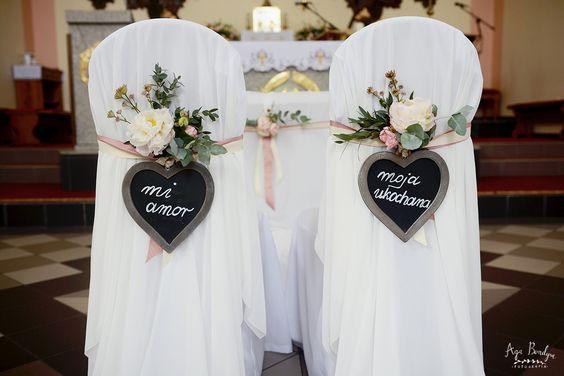 Dekoracja ślubna Kościoła Agencja ślubna Mk Wedding