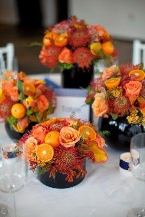 jesienna wiązanka kwiatów